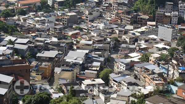 Rio de Janeiro - Verdichtete Bebauung