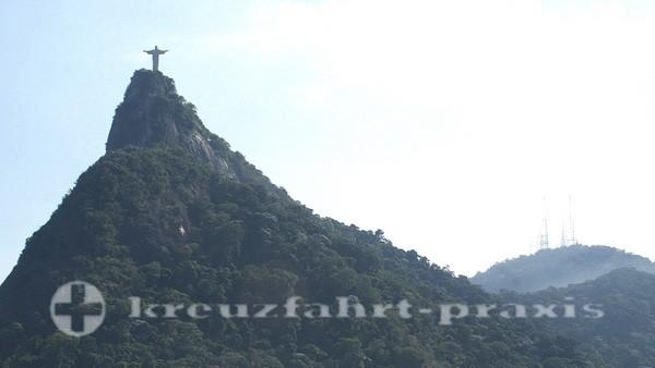 Rio de Janeiro - Cristo Redentor auf dem Corcovado