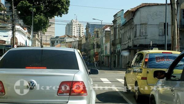 Rio de Janeiro - Im Taxi unterwegs
