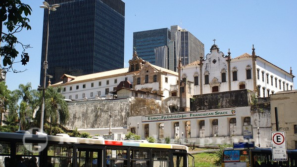 Rio de Janeiro - Igreja e Convento de Santo Antonio