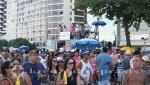 Rio de Janeiro - Partyzone CopacabanaRio de Janeiro - Die verkehrsberuhigte Avenida Atlantica