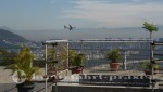 Rio de Janeiro - Flugzeug im Anflug auf Santos Dumont Airport