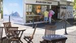 Rio de Janeiro - Edelsteinverkauf in luftiger Höhe