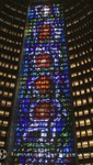 Rio de Janeiro - Catedral Metropolitana - Die Buntglasfenster