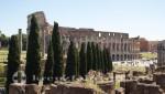 Kolosseum vom Forum Romanum gesehen