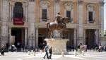 Konservatorenpalast mit der Mark Aurel Statue