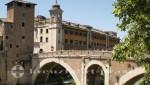 Ponte Fabricio und Isola Tiberina