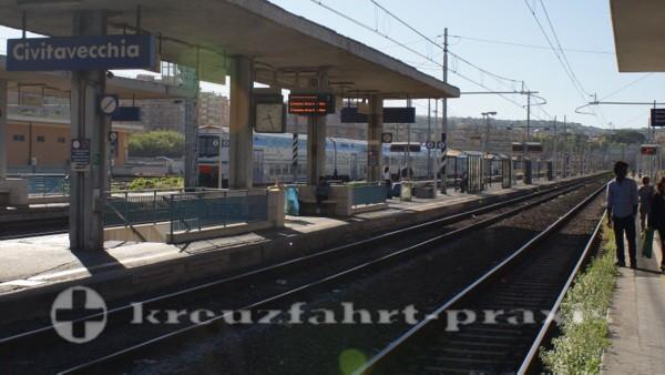 Bahnhof von Civitavecchia