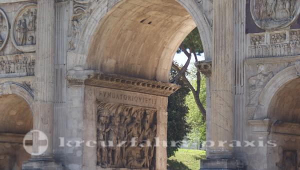 Details des Konstantinbogens