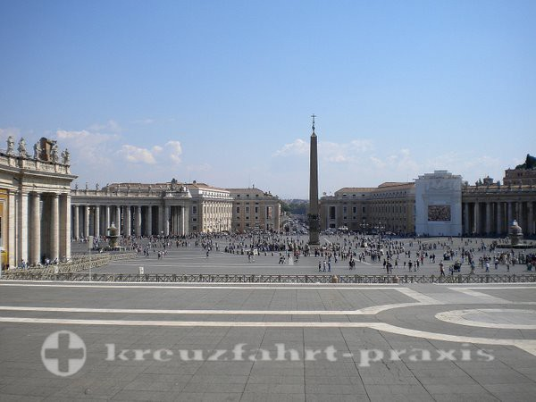 Rome - St. Peter's Square in the Vatican City