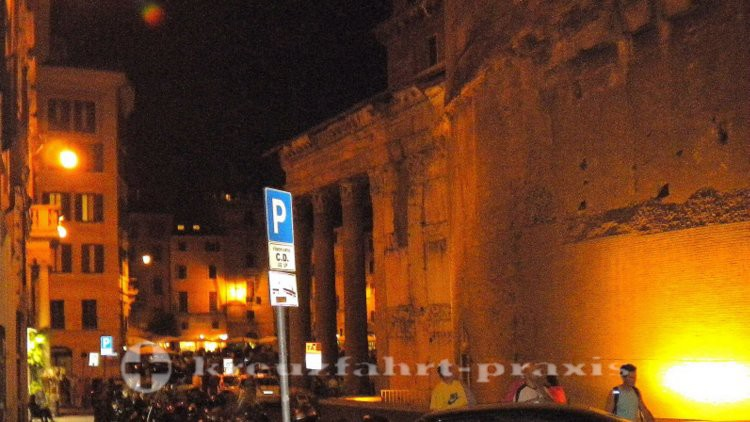 Pantheon von der Seite gesehen