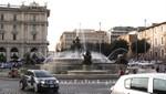 Der Najadenbrunnen an der Piazza della Repubblica
