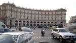 Dominierende Bauten an der Piazza della Repubblica