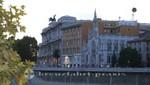 Justizpalast und Kirche Sacro Cuore del Suffrago