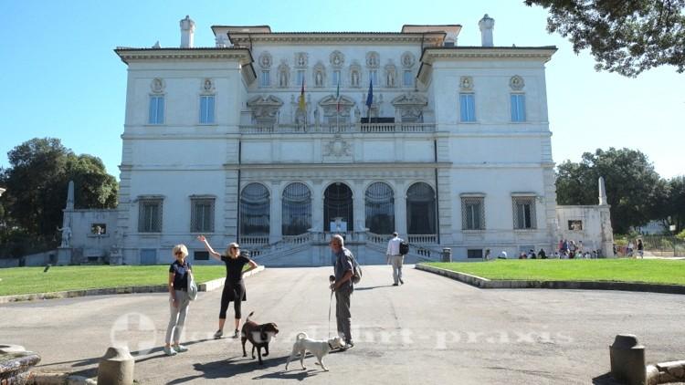 Museo e Galleria Borghese - Südseite