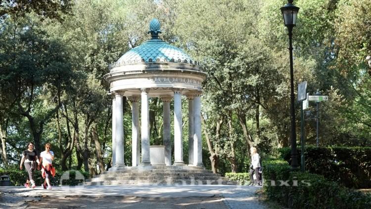 Villa Borghese - Diana Tempel