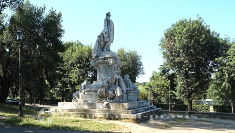 Villa Borghese - Goethe-Monument