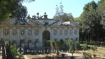 La Meridiana in den Geheimen Gärten - Rückseite