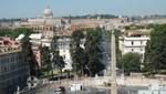 Blick auf die Terrazza del Popolo
