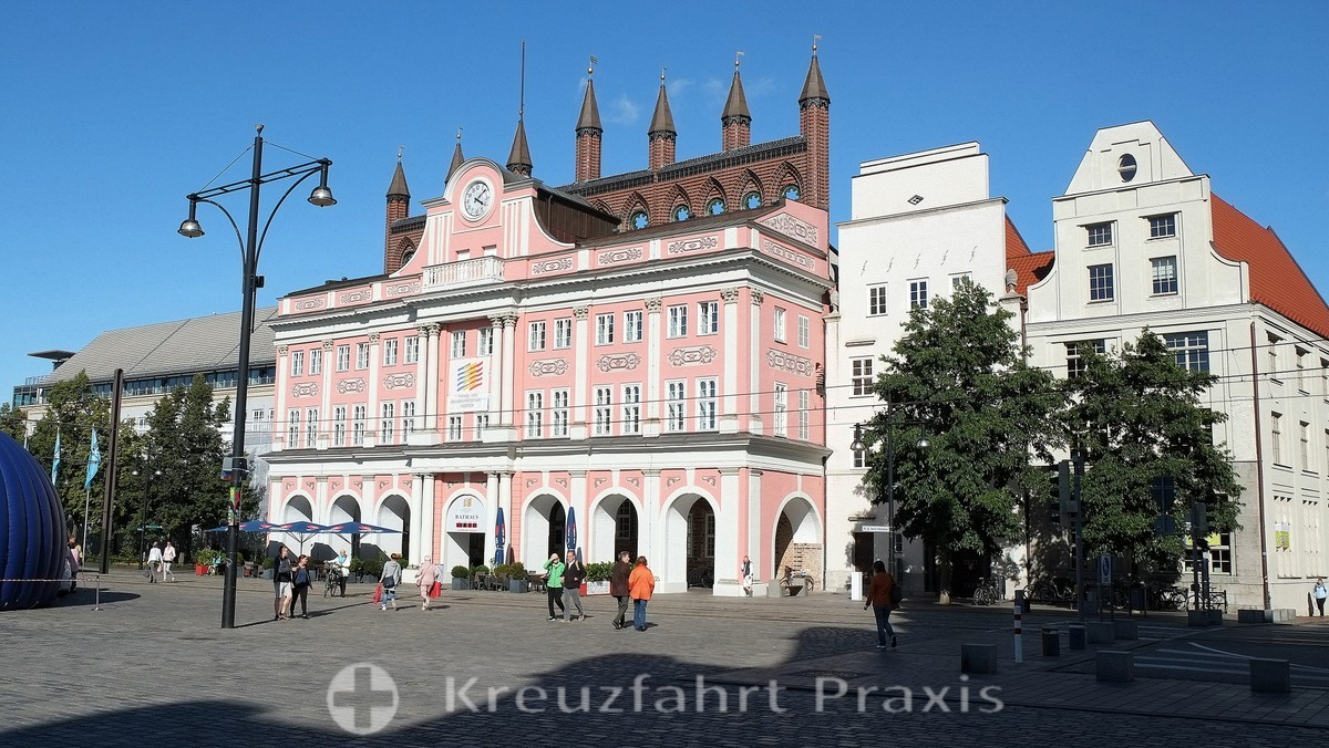 Rostock - The historic town hall