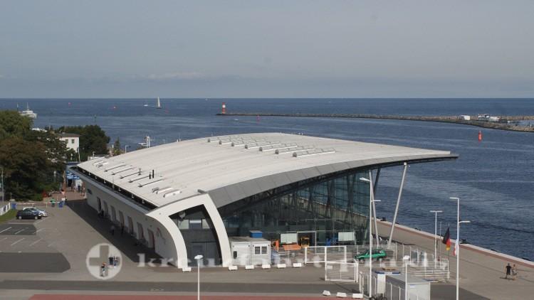 Hafen Rostock für Kreuzfahrtsaison 2020 gerüstet