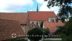 Universitätskirche und Klostergarten
