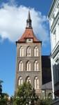 Marienkirche Westbau mit dem Turmmassiv