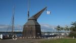 Der Hafentretkran