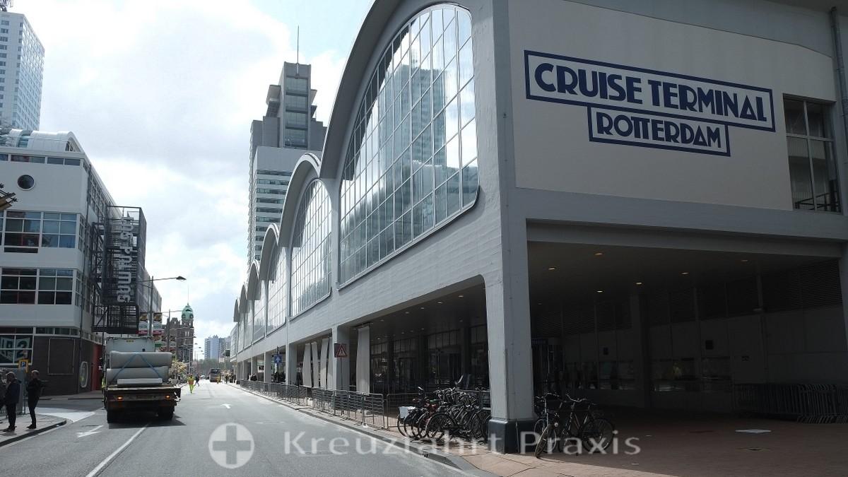 Rotterdam's cruise terminal