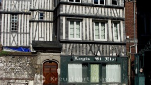 Rouen - Hotel an der Place Martin Luther King