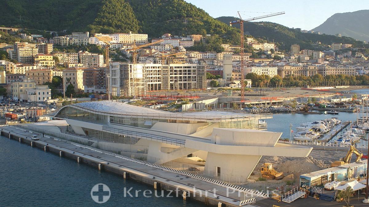 Salerno - the new cruise terminal