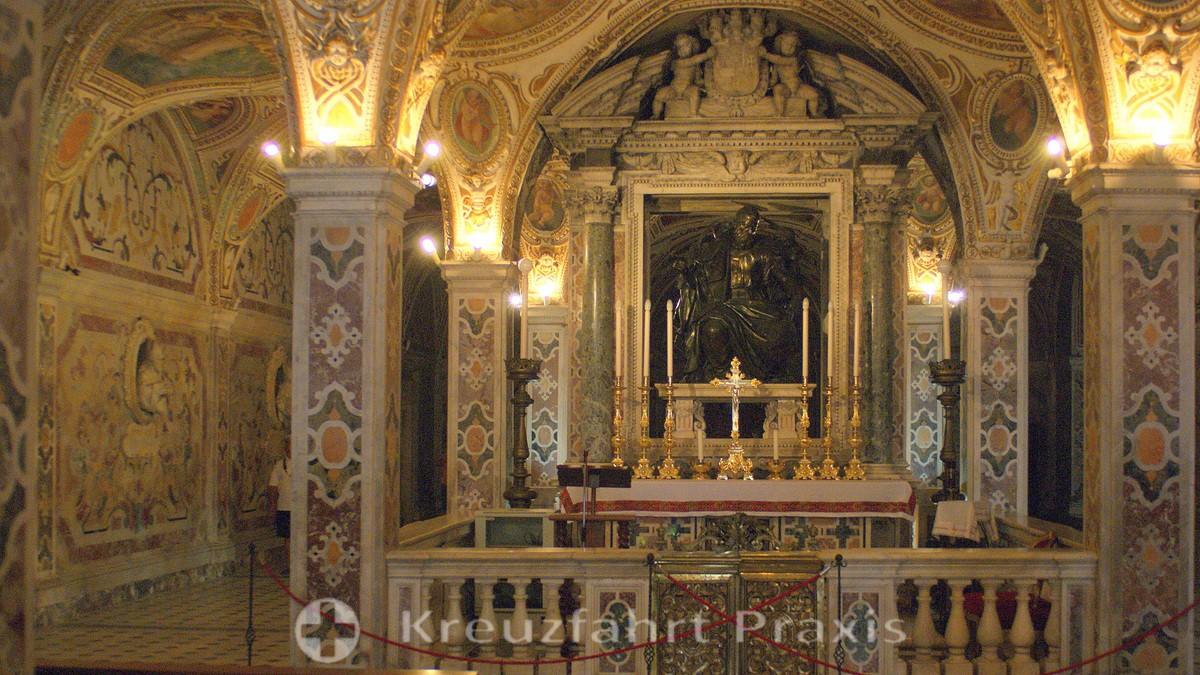 Salerno - Cathedral of the Evangelist Matthew - Crypt