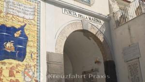 Amalfi - Porta della Marina city gate