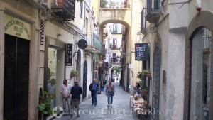 Salerno - corner of Via Mercanti and Via Antonio Mazza