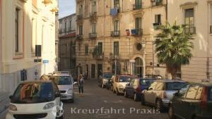 Salerno - Giardino della Minerva area