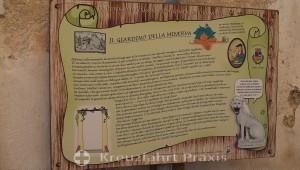 Salerno - History of the Giardino della Minerva
