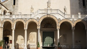 Salerno - Cathedral of St. Matthew the Evangelist - Portal