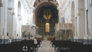 Salerno - Cathedral of the Evangelist Matthew - central nave