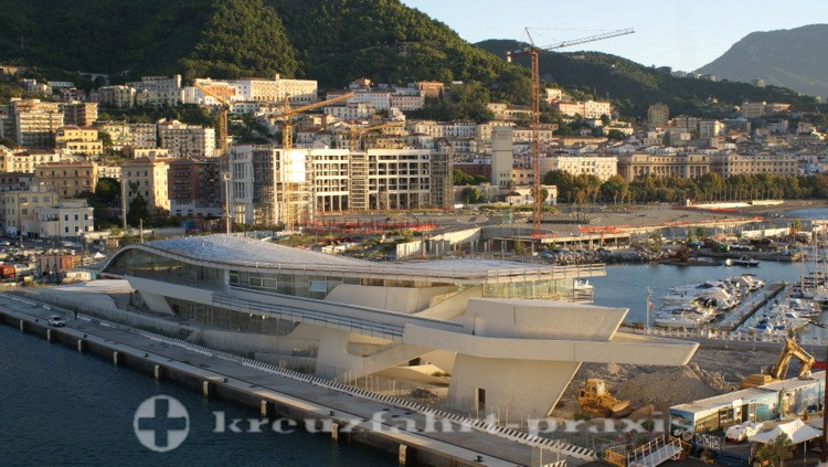 Salerno - Baustelle Kreuzfahrt-Terminal