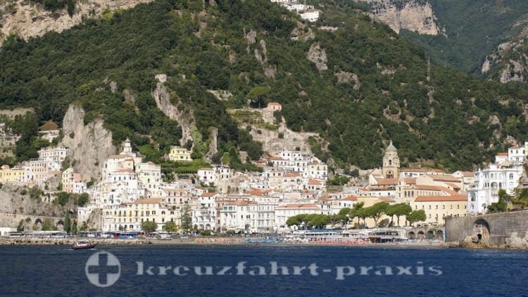 Amalfi - Vom Meer aus gesehen