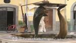 Salerno - Der Delfin-Brunnen