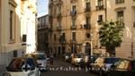Salerno - Aufgang zum Giardino della Minerva