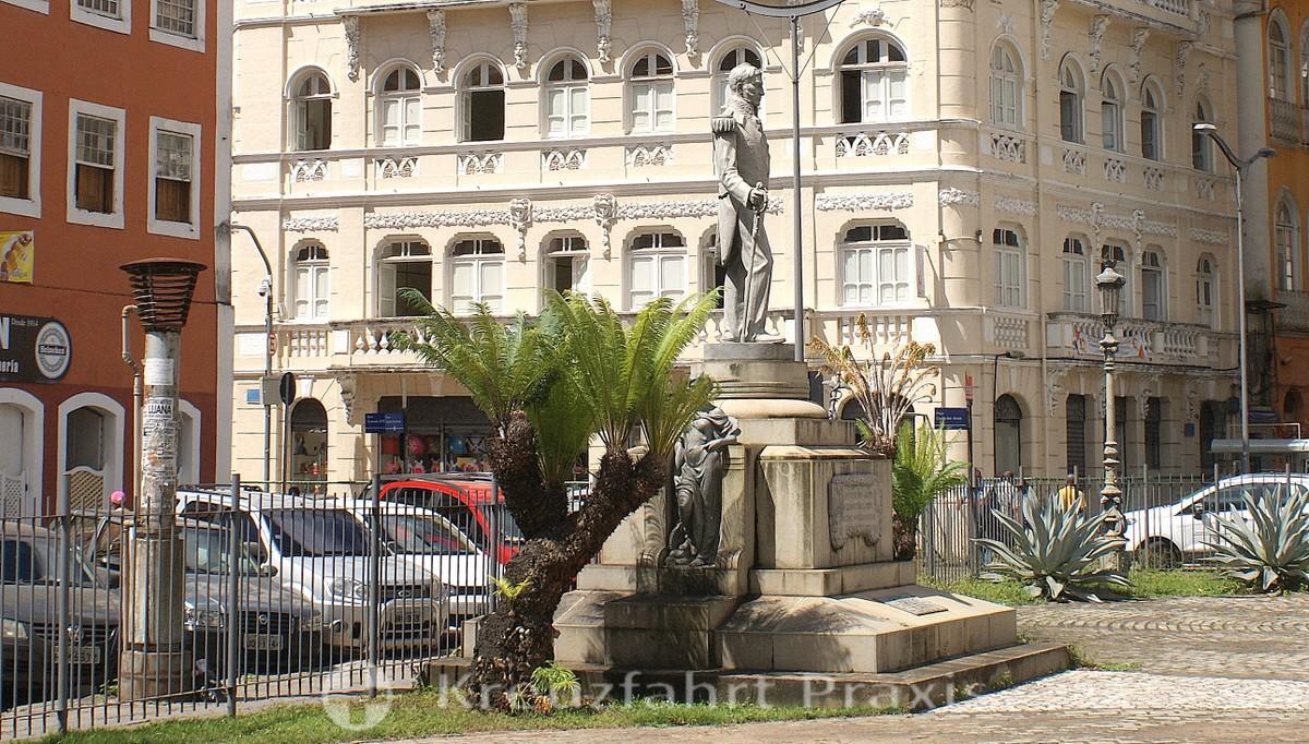 Salvador da Bahia - Lower City - Praça Conde dos Arcos