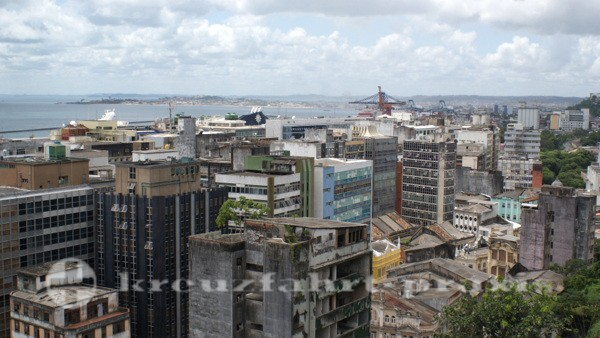 Salvador da Bahia - Bürogebäude in der Unterstadt