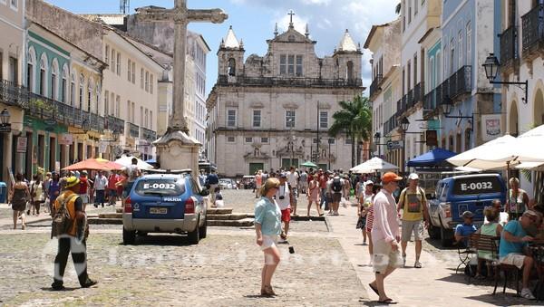 Salvador da Bahia - Largo do Cruzeiro de Sao Francisco