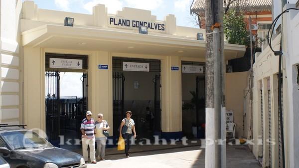 Salvador da Bahia - Schrägaufzug Plano Goncalves