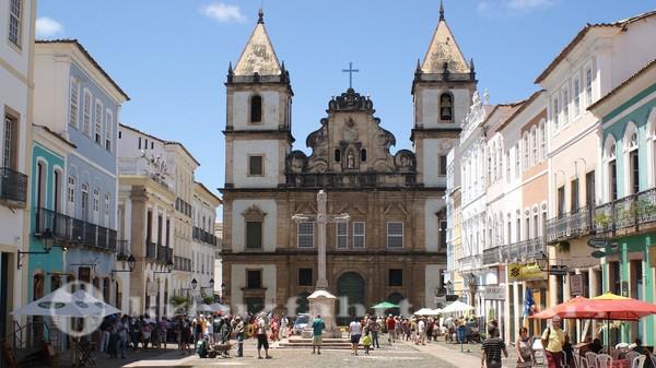 Salvador da Bahia - Convento e Igreja de Sao Francisco