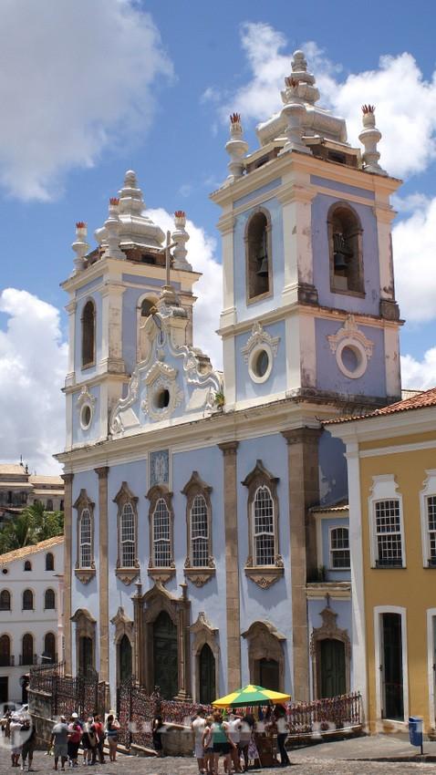 Salvador da Bahia - Igreja de Nossa Senhora do Rosario des Pretos