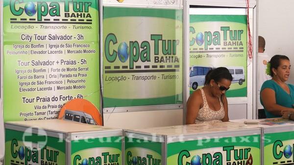 Salvador da Bahia - Touranbieter im Cruise Terminal