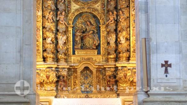 Salvador da Bahia - Kathedrale - Seitenaltar